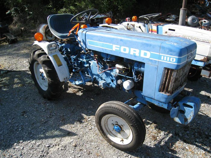 Ford 1110 Tractor Parts