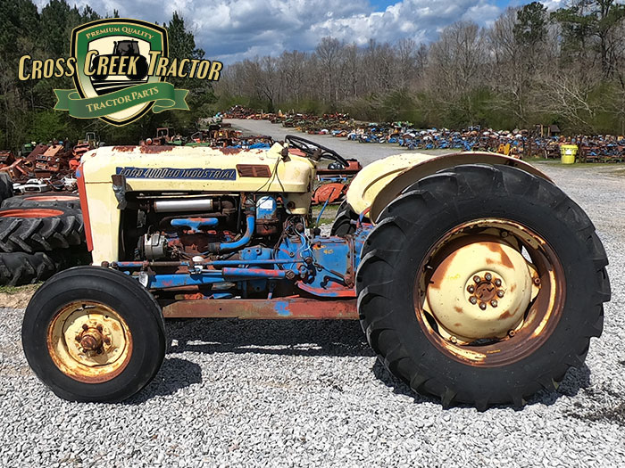 Ford 4000 HD Industrial Tractor Parts