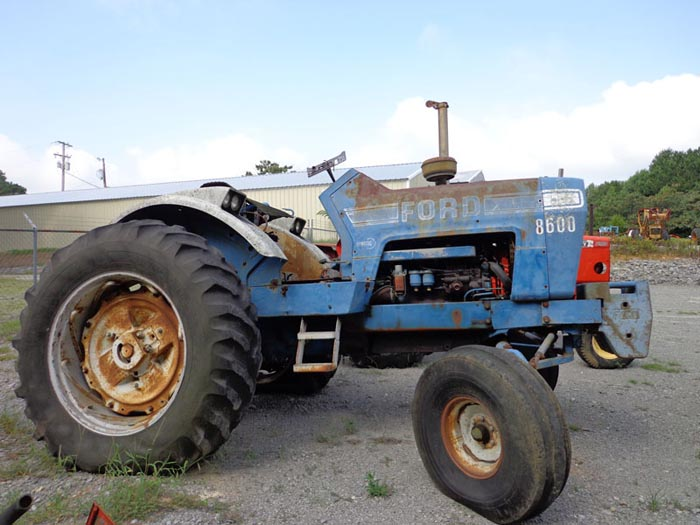 Ford 8600 Tractor Parts