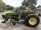 Used John Deere 2640 Tractor Parts