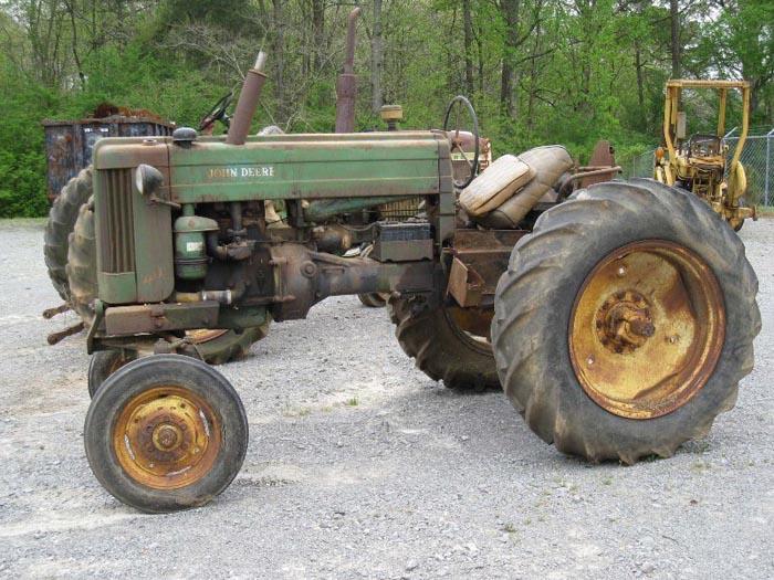 Used John Deere 40T Tractor Parts