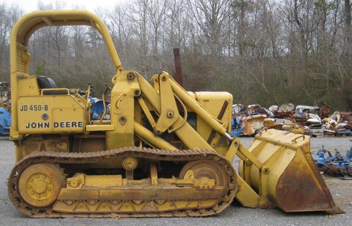 Used John Deere 450B Parts