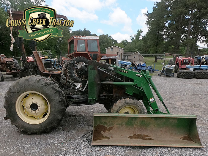 Used John Deere 4710 Tractor Parts