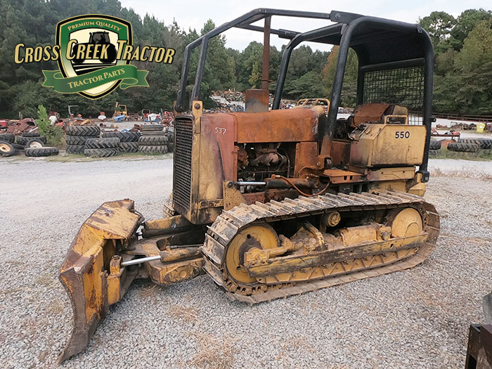 Used John Deere 550 Dozer Tractor Parts