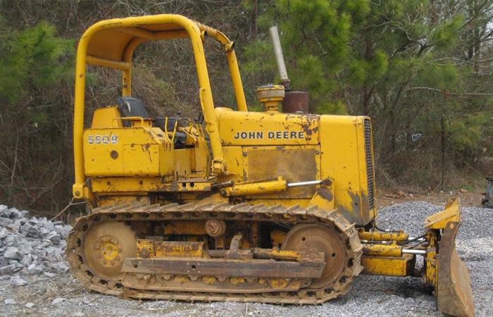 Used John Deere 550B Parts