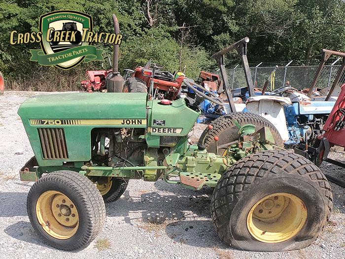 Used John Deere 750 Tractor Parts