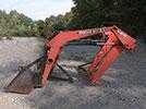 Used Kubota Woods Dual 195 Loader