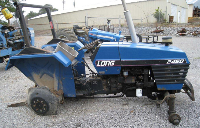 Used Tractor Salvage : Used long tractor parts
