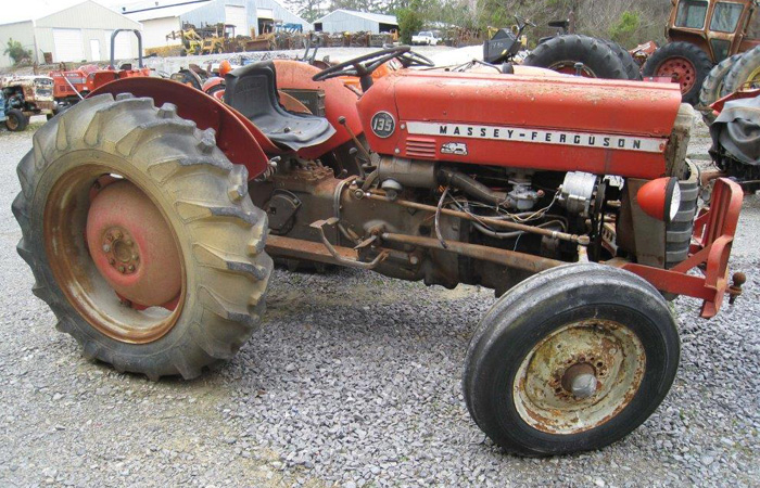 Used Massey Ferguson 135 Tractor Parts