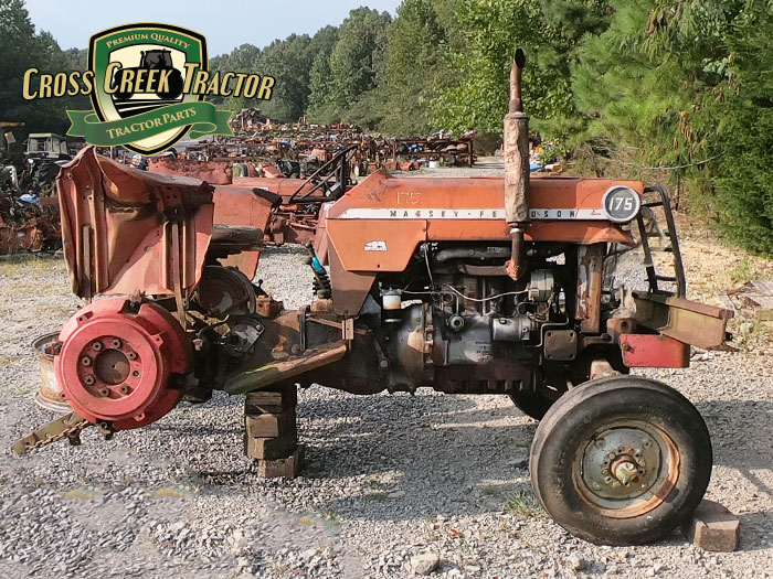 Used Massey Ferguson 175 Tractor Parts
