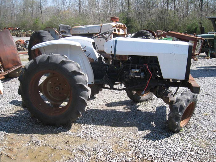 Used Massey Ferguson 210-4 Tractor Parts