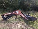 Used Massey Ferguson 2245QT Bush Hog Loader