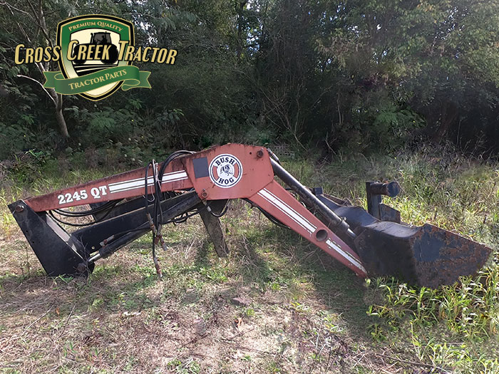 Used Massey Ferguson 2245QT Bush Hog Loader