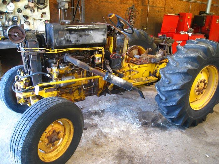 Used Massey Ferguson 3165 Tractor Parts