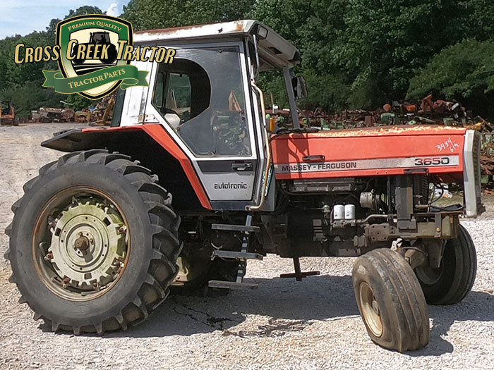 Used Massey Ferguson 3650 Industrial Tractor Parts