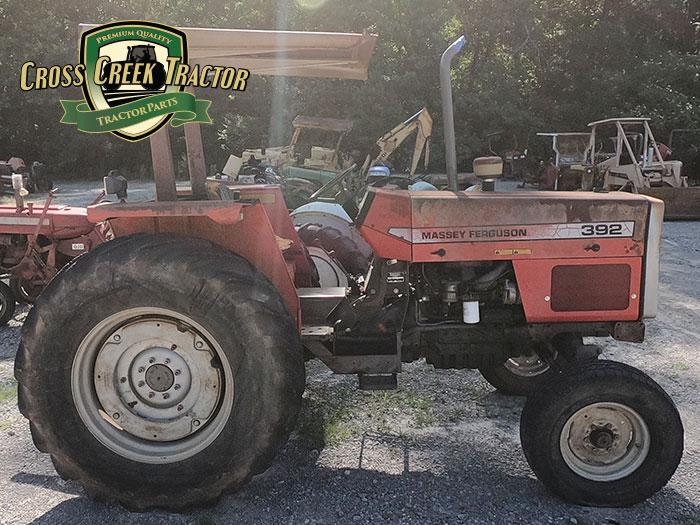 Used Massey Ferguson 392 Tractor Parts