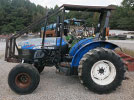 Used New Holland TN75 Tractor Parts